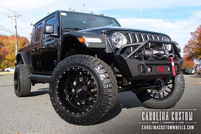 Black 2020 Jeep Gladiator Overland 4x4