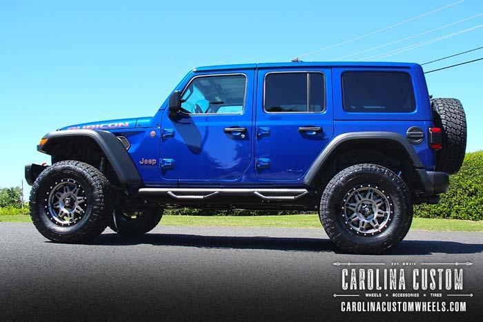 Ocean Blue 2019 Jeep Wrangler Unlimited Rubicon 4x4