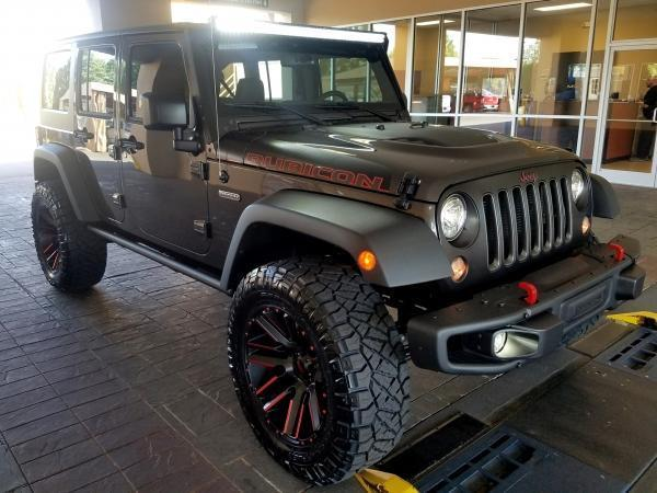 2017 Jeep Wrangler Unlimited Rubicon Recon 4x4