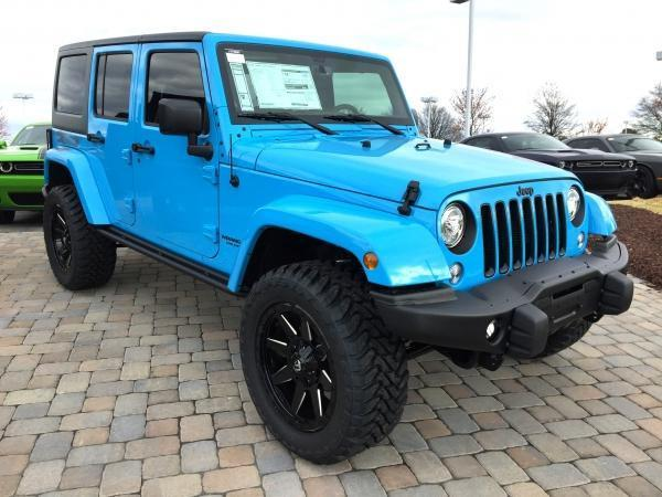 2017 Jeep Wrangler Unlimited Winter 4x4